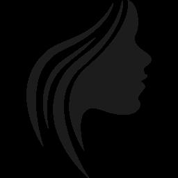 Hair icon female